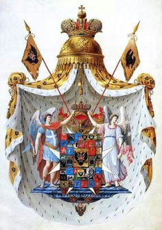 The Royal Romanov coat of arms                                                                                                                                                      More