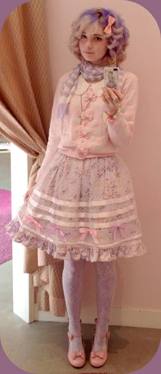 BtSSB Angel Grosgrain skirt ~