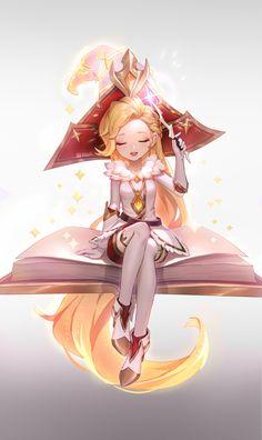 ArtStation - Arcanist Zoe Prestige, Kezi . League Of Legends Characters, Lol League Of Legends, Anime Couples Manga, Cute Anime Couples, Anime Girls, Manga Illustration, Character Illustration, Liga Legend, Comic Art Girls