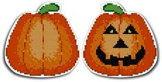 Free Needlepoint Patterns Charts | Pumpkin Needlepoint Pattern - Pumpkin Needlepoint Chart