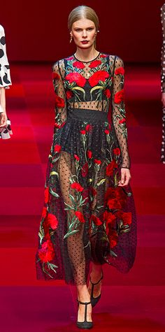 Runway Looks We Love: Dolce & Gabbana #InStyle