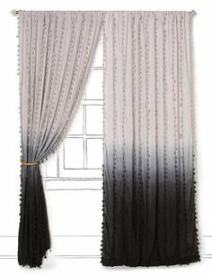 Not sure this is exected perfectly, but idea rocks    Ombre curtains. #ombre