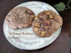 I'm not sure these cookies could have any more peanut butter!