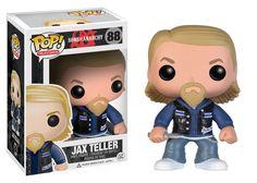 Sons of Anarchy, Jax Teller Pop! So we can have Jax on our desks, well sort of. Jax Teller, Gemma Teller, Sons Of Anarchy, Pop Vinyl Figures, Pop Figurine, Vinyl Collectors, Pop Television, Pop Collection, Pop Dolls
