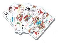 Werbespielkarten als Werbeartikel einsetzen. Das können Sie bei uns... Die Spielkarten können mit Ihren Firmenlogo etc. bedruckt werden..