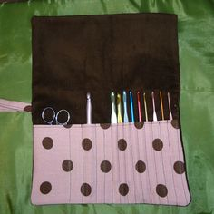 Nearly four years ago I taught myself to crochet with the crochet hooks I inherited from my Grandma. I had needed a way to store the hooks so I made a holder for them. I have someone on my Christmas list this year who has taken up crochet as a hobby, and I thought it... Read More »