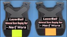 20 Nerf War Score Keeping Vests Counts and Tracks all Nerf Dart or Nerf Ball Hits. Send Hit information to Phone or Score Board. Good addition for Nerf Wars