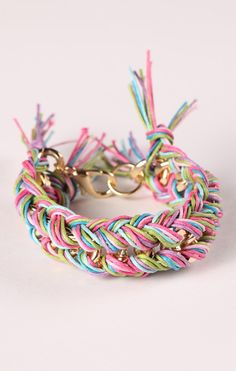 Braided Colors Bracelet