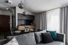 Умная планировка и стильный дизайн маленькой квартиры в Польше (36 кв. м) | Пуфик - блог о дизайне интерьера