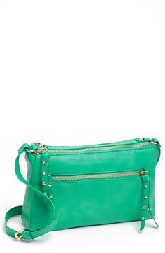 Collection B Faux Leather Crossbody Bag (Juniors) available at #Nordstrom