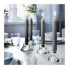 DAGLIGEN Unscented candle - IKEA