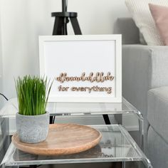 "our ""alhamdulillah for everything"" frame is laser cut from inch bare birch + hand. Alhamdulillah For Everything, Tulip, Decorating Your Home, Islamic, Place Card Holders, Tea, Logo, Frame, Inspiration"