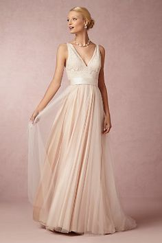 A-Line Wedding Dresses | 2014 A-Line Wedding Dress Styles | BHLDN