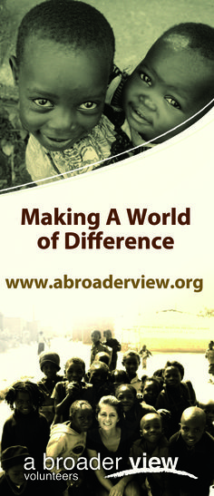 Volunteer Abroad 22 Countries 200 Social Ourtreach Programs https://www.abroaderview.org