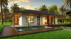 Kit Homes Nation-wide, supplier of steel kit homes. Delivering prefab and steel kit homes Australia wide from Queensland to Tasmania. A Frame House Plans, Bedroom House Plans, New House Plans, Kit Homes Australia, House Plans Australia, Prefab Homes Australia, Granny Flat Plans, Steel Frame House, Steel House Kits