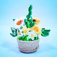 flower quilled paper art