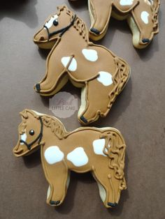 Horse Cookies by @Kathi Andrepont Castro via #TheCookieCuterCompany at www.cookiecuttercompany.com
