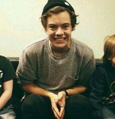 He looks like a little kid. It's so cute!