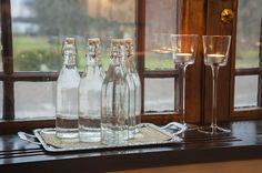 … Bottle, Home Decor, Flask, Interior Design, Home Interiors, Decoration Home, Jars, Interior Decorating, Home Improvement