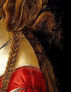 Simonetta Vespucci (detail), Sandro Botticelli.