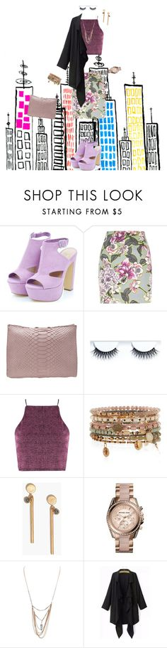"""City look"" by jofrancis ❤ liked on Polyvore featuring River Island, Hunting Season, Accessorize, Madewell, Michael Kors and Wet Seal"