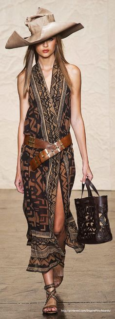 Spring 2014 RTW Donna Karan Collection- love the dress and shoes