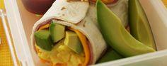 Avocado Breakfast Wrap #iloveavocadosforhalloween
