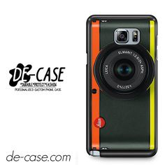 Orange Yellow Leica Camera For Samsung Galaxy Note 5 Case Phone Case Gift Present YO
