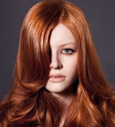 cabello cobrizo - Buscar con Google