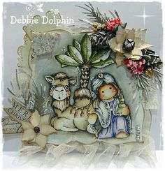 Magnolia cards by Debbie: Magnolia Nativity Collection 2012 Christmas Projects, Christmas Themes, Magnolia Colors, Marker Art, Copics, Scrapbook Cards, Scrapbooking, Xmas Cards, Homemade Cards