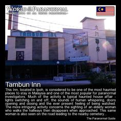 Tambun Inn   - Ipoh, Perak, Malaysia   - 'World of the Paranormal' are short bite sized posts covering paranormal locations, events, personalities and objects from all across the globe.   Follow The Paranormal Guide at: www.theparanormalguide.com/blog