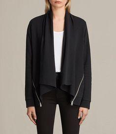 Women's Lucia Sweatshirt (Black) -