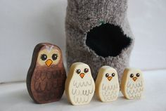 Owl Babies by mamakopp on Etsy, $40.00