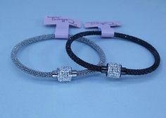 Stainless steel bracelets with magnet lock : Cellucci Jewellery collection♡♡
