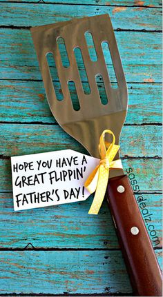 spatula fathers day gift  idea
