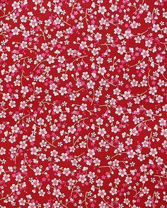 Kinderbehang Pip - Bloemetjes rood/roze 313027 | Kinderbehang Eijffinger - behang Pip | BEHANG4KIDZ - Hip kinderbehang