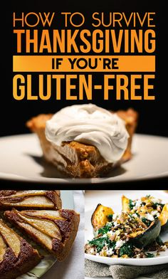 How To Survive Thanksgiving If You're Gluten-Free. #riceworks #glutenfree #thanksgiving