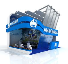 exhibition stand on Behance More