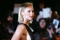 See the ever-changing hair styles of Oscar winning actress, Jennifer Lawrence.
