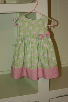 McCall's Pattern #M6015 - Little girl's dress