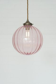 Dusky Pink Glass Fulbourn Pendant Light by Jim Lawrence 28 Bathroom Lighting Ideas to Brighten Your Style Bathroom Pendant Lighting, Bedroom Lighting, Bathroom Ceiling Light, Bedroom Ceiling Lights, Pink Ceiling, Vintage Pendant Lighting, Glass Ceiling Lights, Ceiling Lighting, Glass Pendant Light