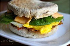 Super Easy Healthy Egg Sandwich