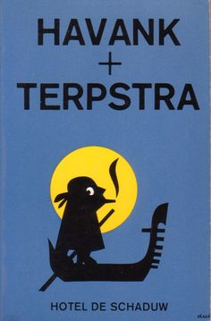 Havank + Terpstra - Hotel De Schaduw Ferrari Logo, Black Bear, Tweety, Graphic Design, Logos, Fictional Characters, Book Covers, Artists, Seeds