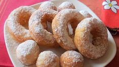 Romanian Food, Onion Rings, Doughnuts, Bagel, Biscuit, Sausage, Sweet Tooth, Yummy Food, Bread