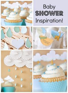 A Blessed and Blissful Life: Baby SHOWER Inspiration!