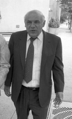 """Venero """"Benny Eggs"""" Mangano, the longtime underboss of NY's Genovese crime family. A lifelong ally, advisor and confidant of boss Vincent """"The Chin"""" Gigante, Mangano was a true stand-up guy doing 15 years in prison for a crime that should have gotten him 5. Mangano died at age 95. RIP Benny."""