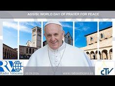 Siga aquí en vivo la visita del Papa Francisco a Asís