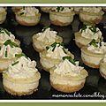 Mini cheesecake version salée - Maman s'éclate !