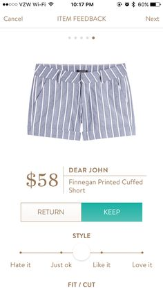 Dear john shorts. I love Stitch Fix! A personalized styling service and it's amazing!! Simply fill out a style profile with sizing and preferences. Then your very own stylist selects 5 pieces to send to you to try out at home. Keep what you love and return what you don't. Only a $20 fee which is also applied to anything you keep. Plus, if you keep all 5 pieces you get 25% off! Free shipping both ways. Schedule your first fix using the link below! #stitchfix @stitchfix. Stitchfix Spring…