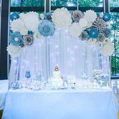 Intuitive suggested quinceanera party decorations this content Idee Baby Shower, Baby Shower Backdrop, Boy Baby Shower Themes, Baby Boy Shower, Frozen Themed Birthday Party, Birthday Party Decorations, Baby Shower Decorations, Birthday Parties, Frozen Party Decorations